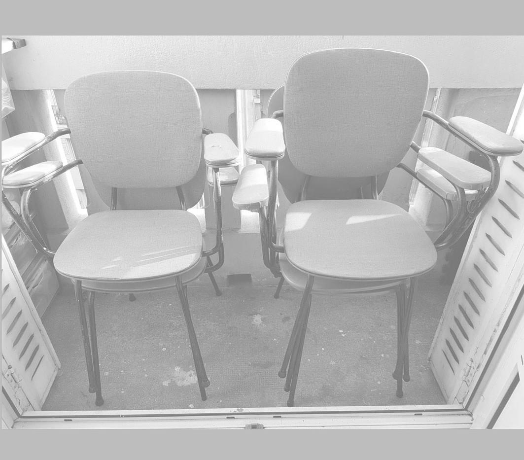 Petit fauteuil des années 60