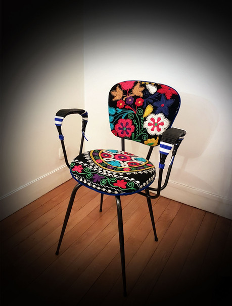 Upcycling de fauteuil FAROUCHE FELICITE
