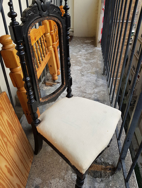 CHAISE RELOOKING NAPOLEON 3