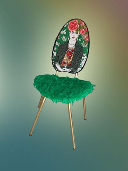 Frida Kahlo Duo - Green
