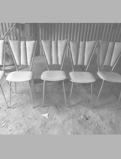 Chaises en skai, Tublac des années 60