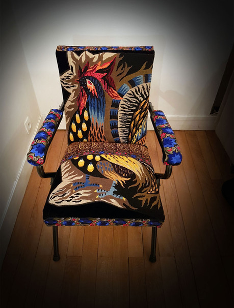 Upcycling de fauteuil GALLIAS GALLUS