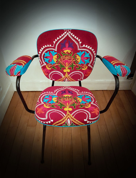 Upcycling de chaise OF THRONE