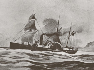 Shipboard cuisine in the gold rush