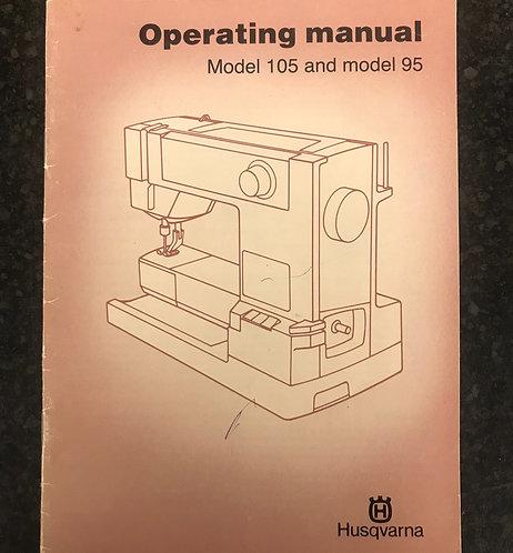 Husqvarna 105/95 Instruction Book.