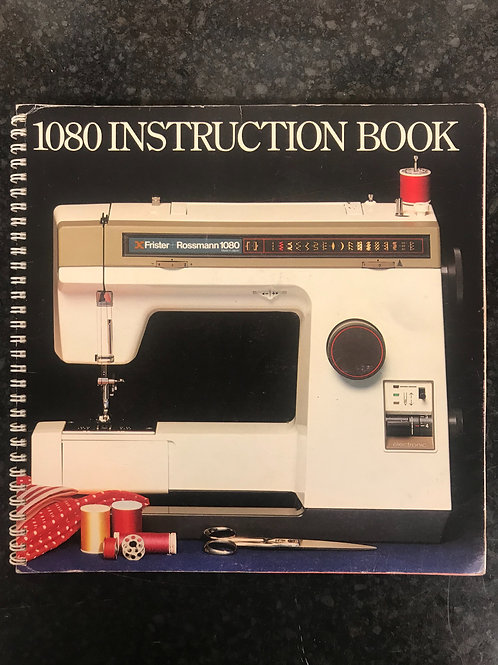 Frister and Rossmann 1080 Instruction Book