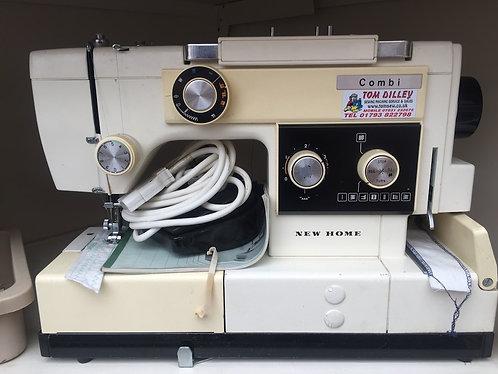 New Home Combi mk1  Machine and Overlocker