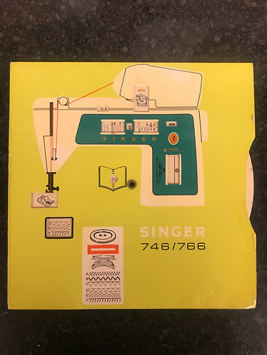 Singer 746/766 Stitch Setup Rotary Card