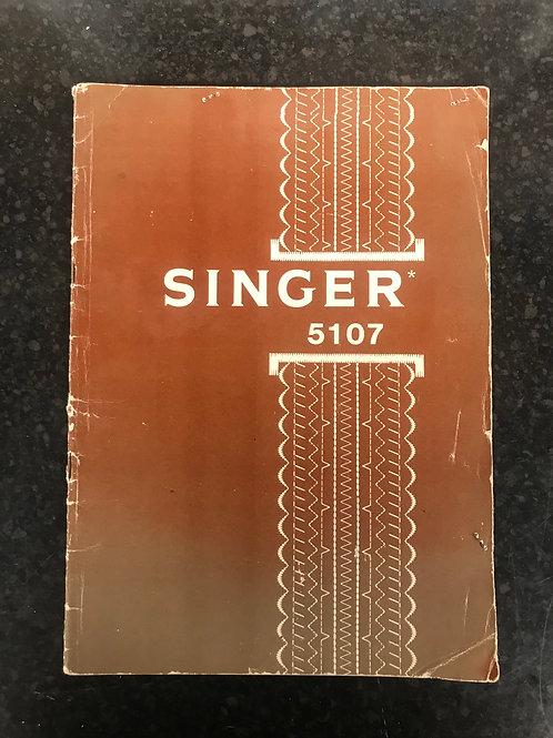 Singer 5107 Instruction Book.