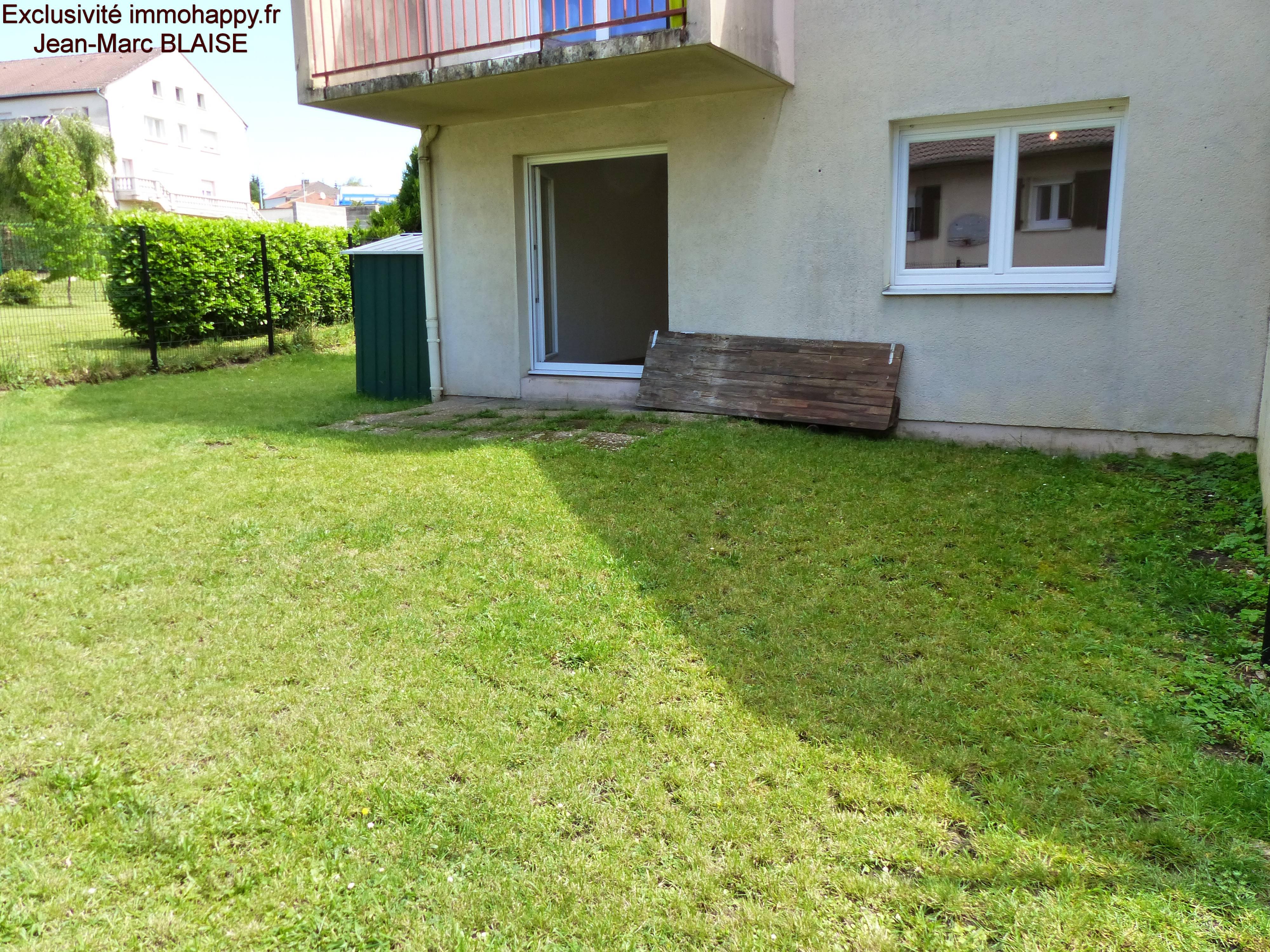 Appart avec jardin à Faulquemont 79500 €