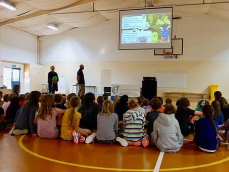 Spreading the word: Visit to Springbank School Kerikeri
