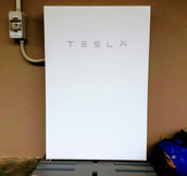 Adding a Tesla Powerwall battery to a domestic solar system