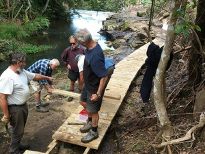 Let's create more public walkways along rivers, streams and coastlines