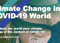How does the world view climate change in the context of COVID-19?