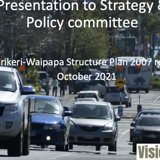 14 years later: The Kerikeri - Waipapa Structure Plan (2007) is reviewed by Council