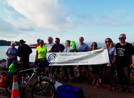 Waiheke to Wellington - by bike: Photos from the first week