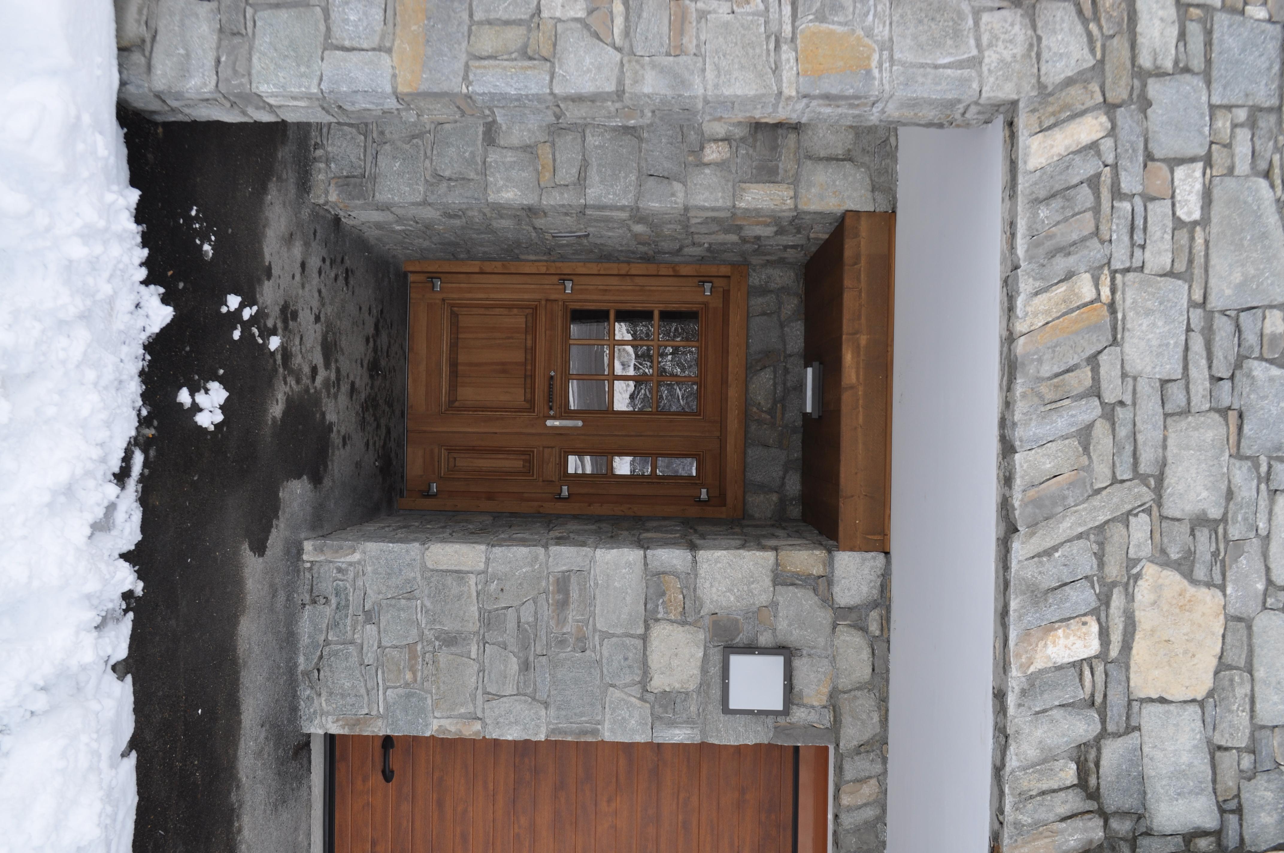Chalet porte