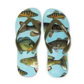 Freshwater FIsh Natural Rubber Flip Flops