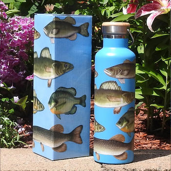 Freshwater FIsh Stainless Steel Water Bottle