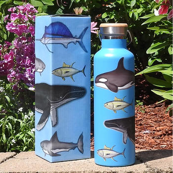 Seah Life Stainless Steel Water Bottle