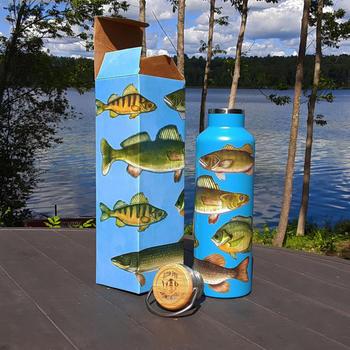 Freshwater Fish Water Bottle