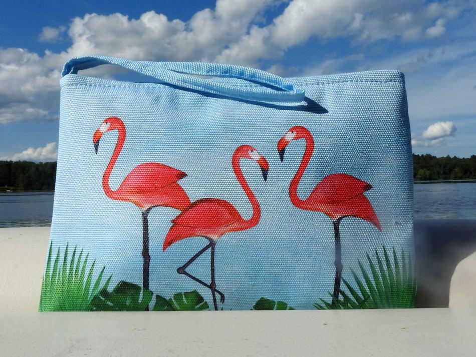 Flamingos Pouch