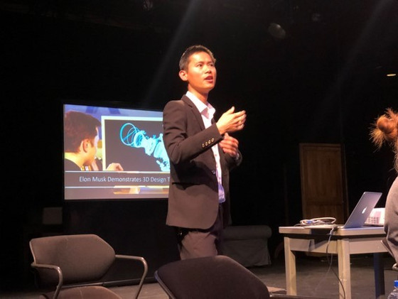 Dr. Wenwu Xu served as panelist for an AME tech talk