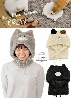 貓咪保暖頭套