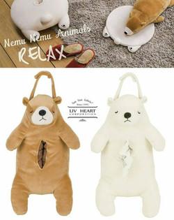 熊熊面紙套