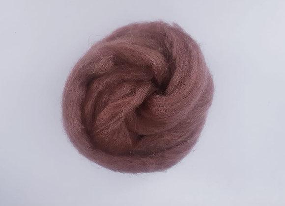 lã de feltragem- castanho- 25g