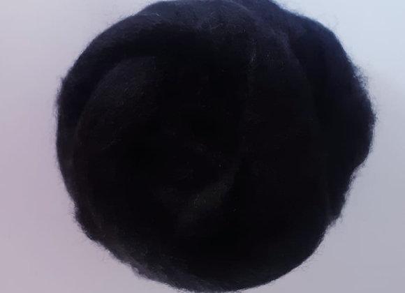 lã de feltragem- preta- 25g