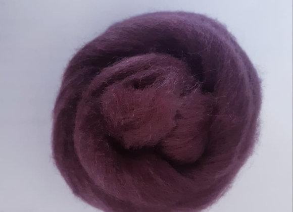 lã de feltragem- marrom B (escuro)- 25g