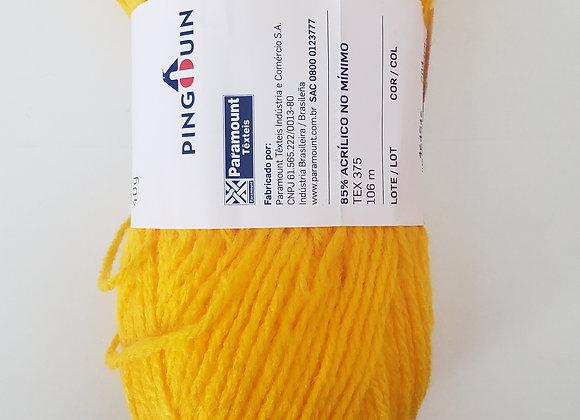 Lã projeto barbizinha- amarela- 40g