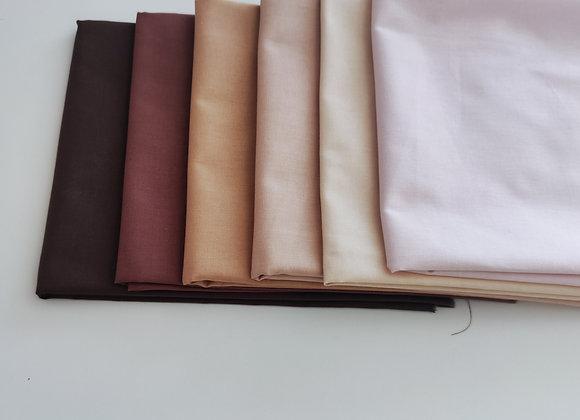 Kit de tecidos pele de boneca