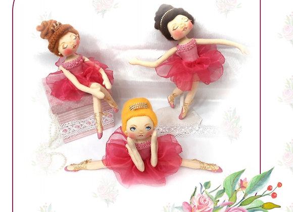 Bailarinas Porta Joias- Apostila impressa