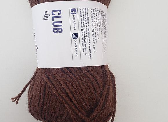 Lã Marrom- projeto barbizinha- 40g