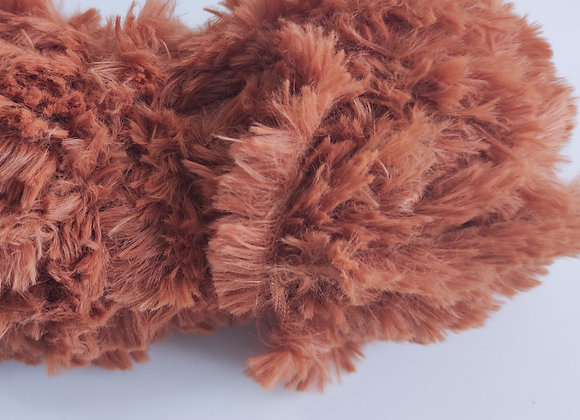 Lã Especial estilo pelúcia- caramelo- 35g