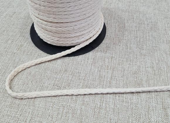 Cordinha de algodão cor crua 3 metros