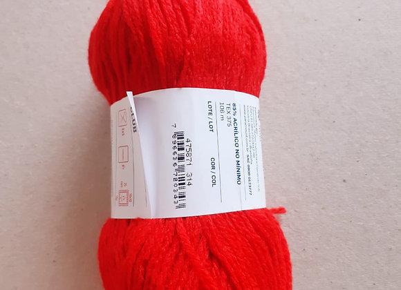 Lã comum Vermelha