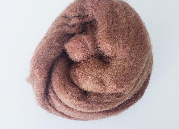 Lã de Feltragem-  castanho claro- 25g