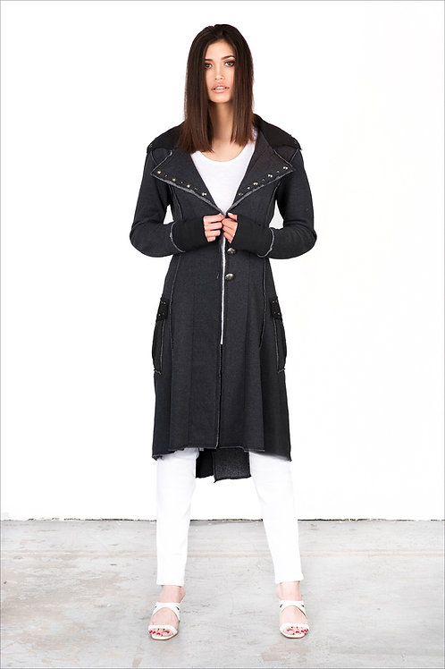 Mid-Length Scripture Coat | Laced Back