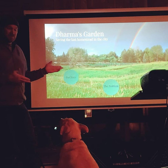 Pitch Presentation on the Farm!