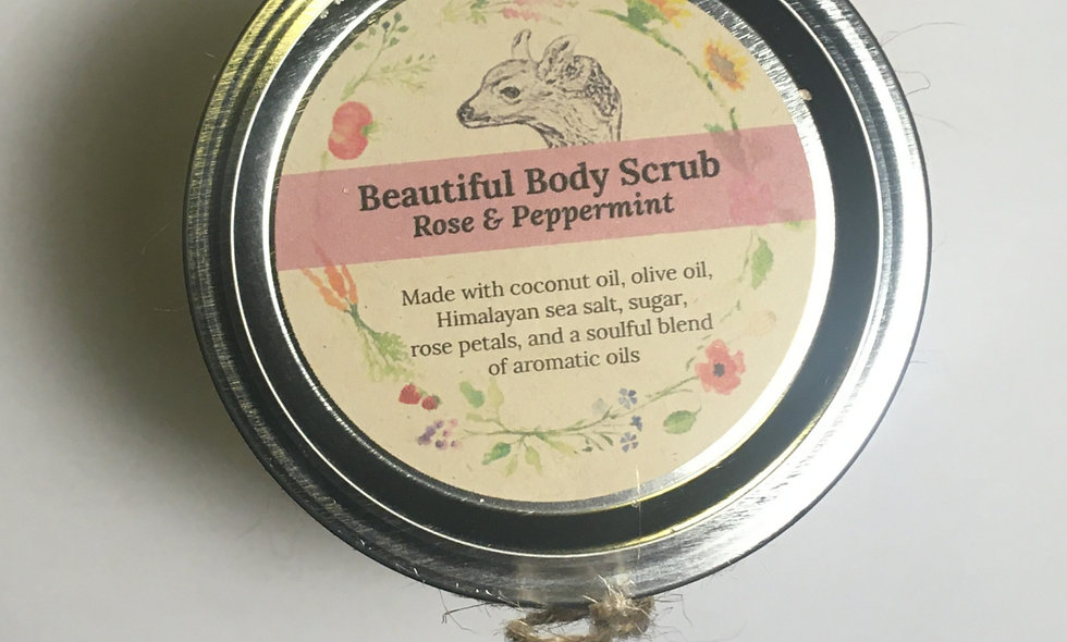 Beautiful Body Scrub