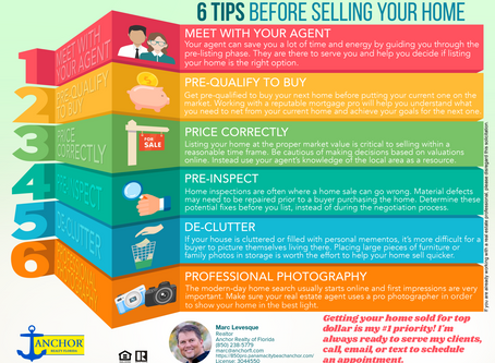 6 Tips Before Selling Your Home