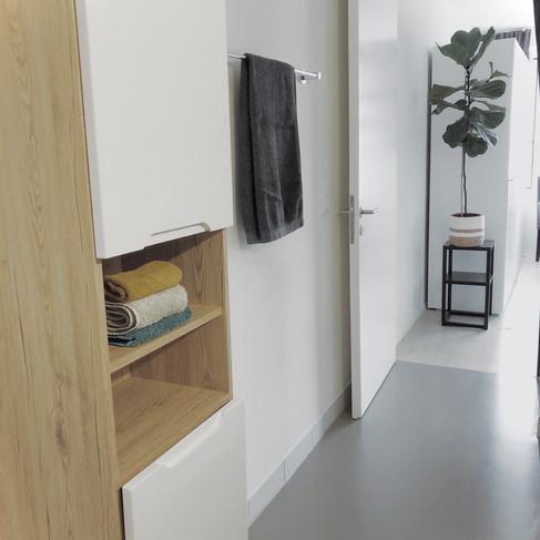 YOUR BATHROOM ( DOOR ARE TO YOUR ROOM)