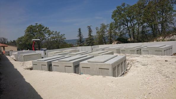 aggrandissement de cimetière