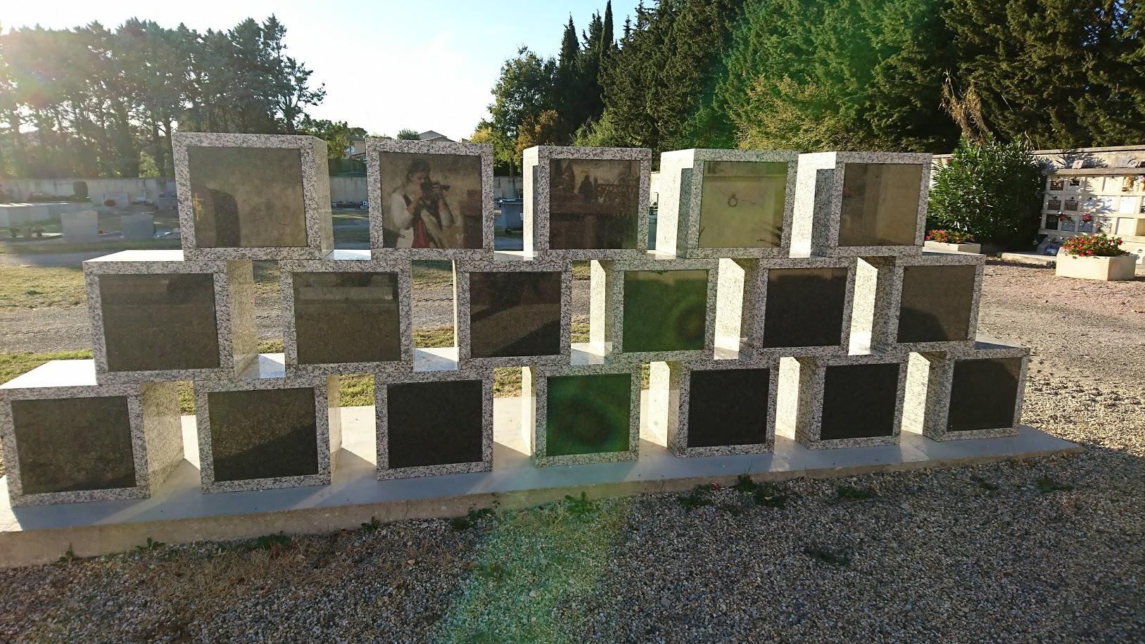 Columbarium cube et modulable