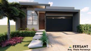 4 FERSANT fachada condominio casa planta