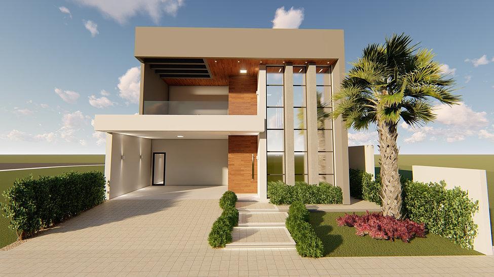 FERSANT fachada casa planta projeto 1.4.