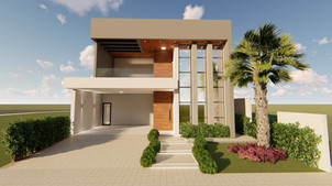 6 FERSANT fachada condominio casa planta